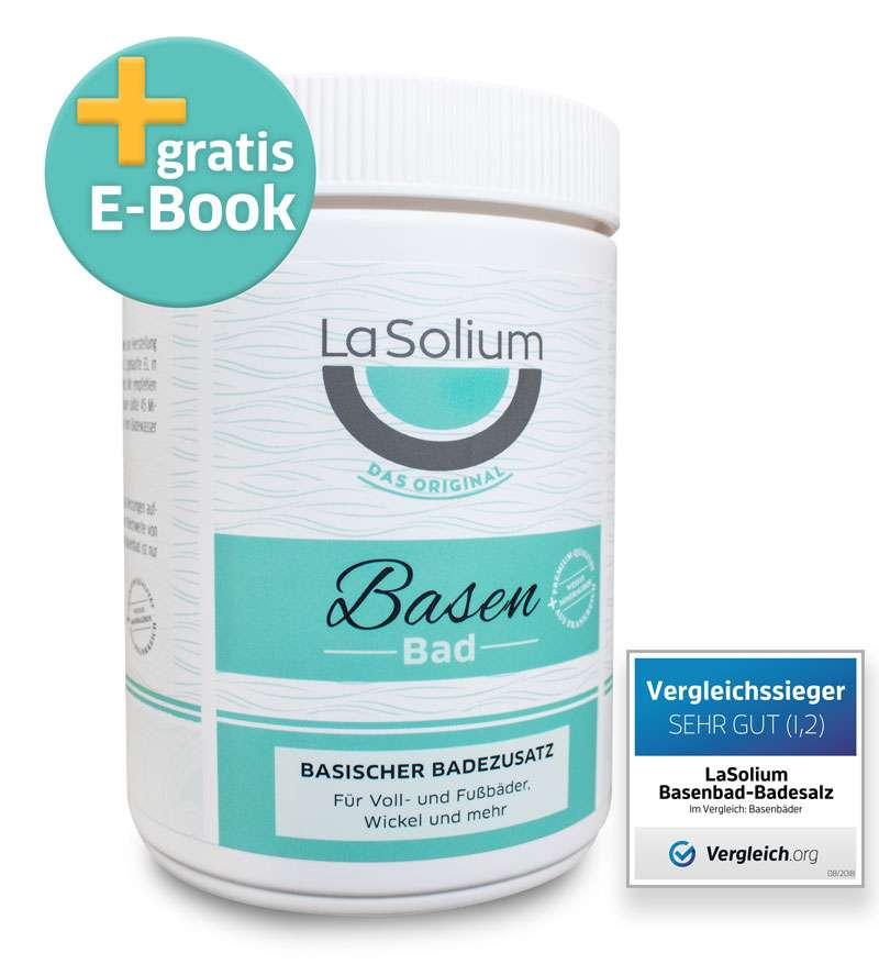 LaSolium Basenbad – Hochwertiger Basischer Badezusatz