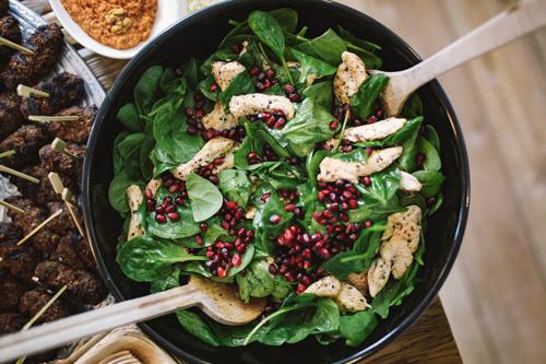 Ausgefallener salat